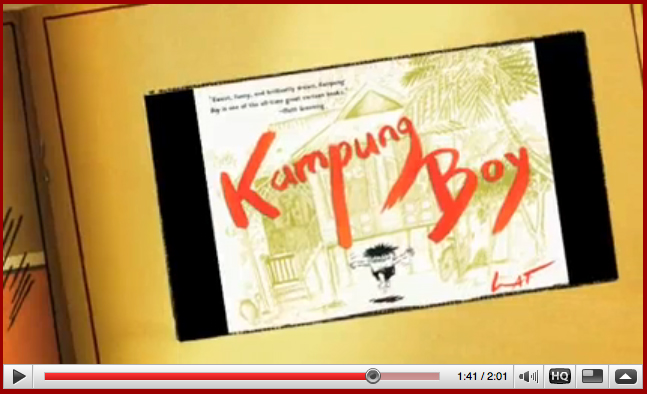 Kampung Boy Book video